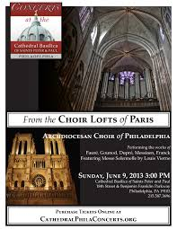 100 Paris Lofts The Choir Of Concerts At The Cathedral Basilica