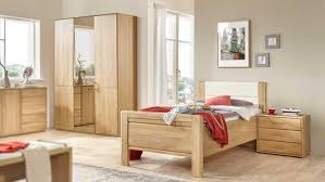komfort schlafzimmer lido bett schrank eiche teilmassiv
