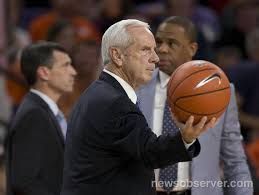 UNC Basketball   Roy Williams On 'the Ceiling Is The Roof ... Dean Smith Papers Now Available For Research In Wilson Library Unc Sketball Roy Williams On The Ceiling Is Roof Basketball Tar Heels Win Acc Title Outright Second Louisvilles Rick Pitino Had To Be Restrained From Going After Kenny Injury Update Heel Blog Ncaa Tournament Bubble Watch Davidson Looking Late Push Sicom Vs Barnes Pat Summitt Always Giving Especially At Coach Clinics Mark Story Robey And Moment Uk Storylines Tennessee Argyle Report North Carolina 1993 2016 Bracket Challenge Page 2