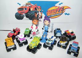 100 Dinosaur Truck Blaze And The Monster Machines Figure Set Of 13 Mini Figures