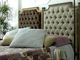 headboard diy headboard using cushions platform bed with