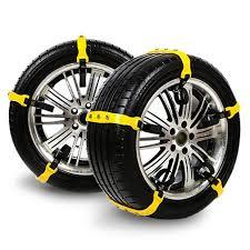 Snow Chains, Anti-skid Tire Chains Anti Slip Snow Tire Chains For ...