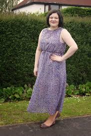 lilac printed maxi dress frills u0027n u0027 spills