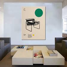 poster wassily stuhl marcel breuer minimale möbel bauhaus design leinwand malerei für schlafzimmer wohnzimmer bad bibliothek o