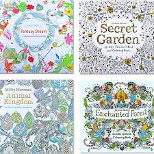 An Inky Treasure Hunt And Coloring Book Secret Garden By Johanna