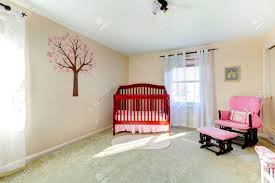 100 Decorated Wall Bright Neutral Color Baby Room With Ivory Stock Photo