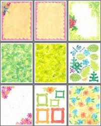 Tropical Scrapbook Paper Designs