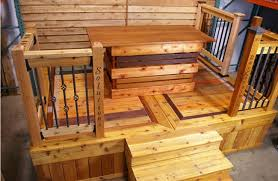 penofin now on display decking woods and display
