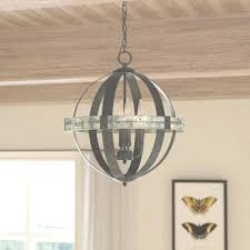 Modern Farmhouse Chandelier Laurel Foundry Pearl 4 Light Candle Style Within View Dining Room