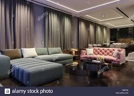 100 Modern Interior Design Colors Interior Design Of Living Room Night Scene With