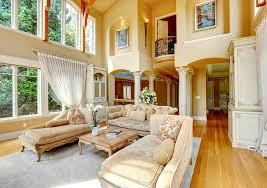 Image Of Elegant High Ceiling Decor