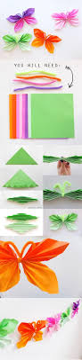Wonderful DIY Super Easy Folded Paper Butterflies
