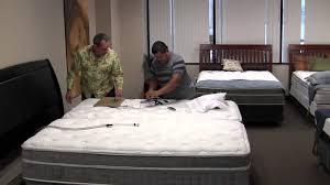 Adjustable Bed Base Split King by Split King Bed Installation Youtube