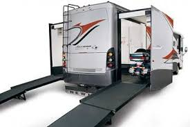 Click Image For Larger Version Name 2008 All Star Cycle Hauler Rear From Doorside Views 2748 Size 158