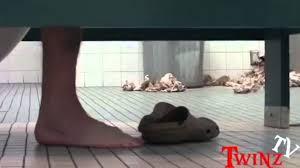 epic grabbing peoples legs in the bathroom prank youtube