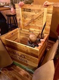 diy pallet storage box toy chest pallet furniture diy