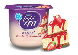 Strawberry Cheesecake Nonfat Yogurt
