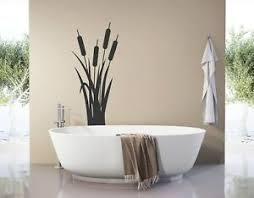 details zu wandtattoo badezimmer bambus schilf deko wandtattoo wohnzimmer blumen pkm409
