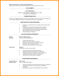 Medical Secretary Resume Best Of Receptionist Objective Law Firm Veterinarians Assistant Entry Level