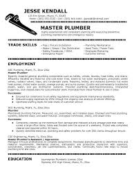 Plumbers Jobs Cover Letter For Plumber Job