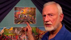 Denver International Airport Murals Artist by And Satanism In The Denver Airport Murals Youtube