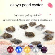 100 Where Is Dhgate Located 2019 Wholesale South Sea Akoya Pearl Oyster 2018 Round 6 7mm 25 Mix