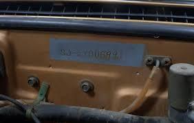 Chevy Truck Vin Number Decoder
