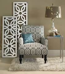 Pier 1 Hayworth Wall Panels And C Table With The Ironwork Liliana Armchair