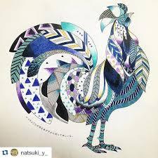 ShareIG Repost Natsuki Y BLUE Milliemarotta Animalkingdombook Chicken CraftsColouring PagesColoring BooksAnimal