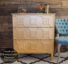 Ikea Trysil Dresser Hack by Ikea Tarva Hack Metallic Gold Honeycomb Hometalk