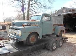 100 Ford Truck Cabs For Sale 1952 Pickup Truck 5 Star Cab Deluxe F1 Pickup Truck For