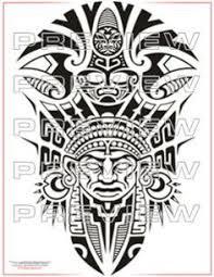 Aztec Tribal Tattoos Art Designs Tattoo Inca
