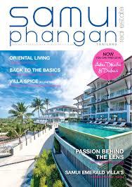 samui phangan real estate april may 2016 by satayu