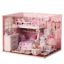 Amazoncom Costzon Kids Dollhouse Toy Family House Play