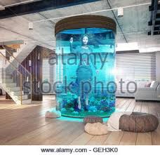 modern loft living room interior 3d rendering design