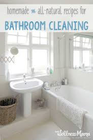 bathroom cleaning tips wellness