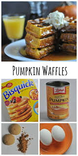 Bisquick Pumpkin Chocolate Chip Muffins by Pumpkin Waffles Dining With Alice