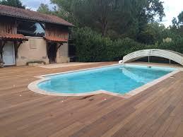 terrasse en ipe à mont de marsan 40 plage piscine paysabois