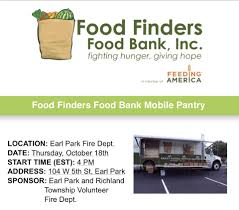 100 Truck Finders Food Will Be In Earl Park Open Arms Food Pantry