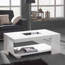 wohnzimmer couchtisch in hochglanz weiß schwarzglas tisch