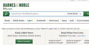 Barnes and Noble Experiencing Massive Website Issues