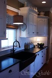 Primitive Kitchen Sink Ideas by Stonegable U0027s Farmhouse Kitchen Reveal Stonegable