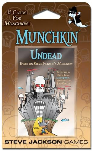 Steve Jackson Games Munchkin Undead Card Game