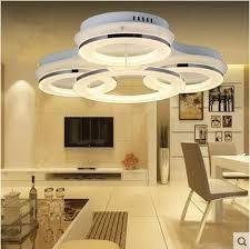 led acryl vertraglich kreative decke lichter wohnzimmer licht rund schlafzimmer kunst atmosphäre decke len 110 220 v