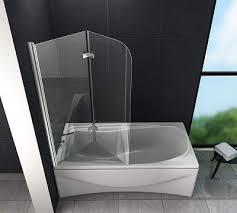 badewannenfaltwand glas test bzw vergleich duschwand