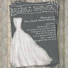 Rustic Printable Wedding Dress Bridal Shower Invitations Online