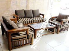 Wood Living Room Sofa And Table In Small Modern Interior Furniture Design Ideas
