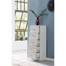 wohnling design sideboard wl5 859 weiß hochglanz 41x108x30 cm anrichte holz modern schmale schubladenkommode esszimmer kleiner allzweckschrank
