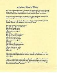 Book Of Shadows Spell Pages A Solitary Ritual Thanks Wicca Witchcraft