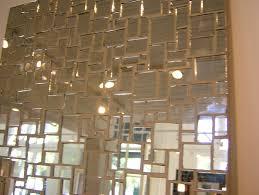 antique mirror tiles wall home design ideas